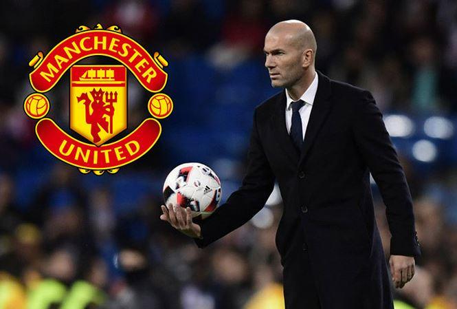 Zidane được M.U nhắm tới để thay Mourinho