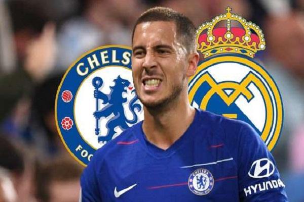 1302-Hazard nói với Chelsea rằng anh muốn chuyển đến Real Madrid