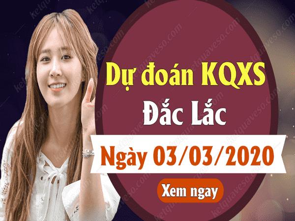 Soi cầu kqxs đắc lắc thứ 5 ngày 03/03