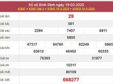 Soi cầu KQXSBDI 26/3/2020 - Xổ số Bình Định thứ 5