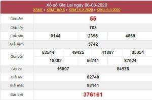 Soi cầu XSGL hôm nay 13/3/2020 - Dự đoán XS VIP Gia Lai