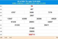 Soi cầu KQXS Bến Tre 19/5/2020, chốt cầu lô số đẹp