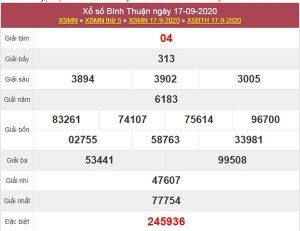 Phân tích XSBTH 24/9/2020 chốt số Bình Thuận cùng cao thủ