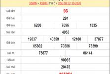 Tổng hợp thống kê KQXSBT ngày 29/10/2020- xổ số bình thuận