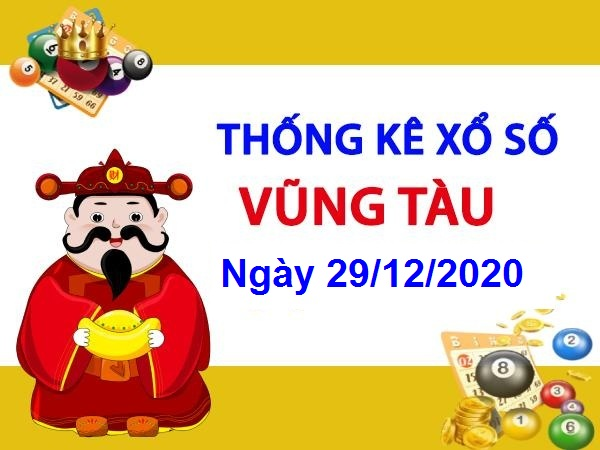 Thống kê KQXSVT ngày 29/12/2020