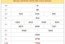 Phân tích KQXSST ngày 27/1/2021 dựa trên kết quả kì trước