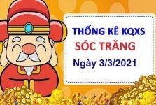Thống kê KQXSST ngày 3/3/2021