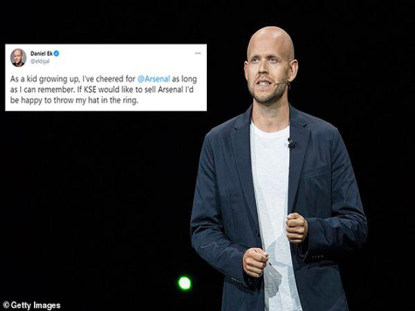Tin thể thao chiều 9/6: Tỷ phú Thụy Điển tăng giá hỏi mua Arsenal