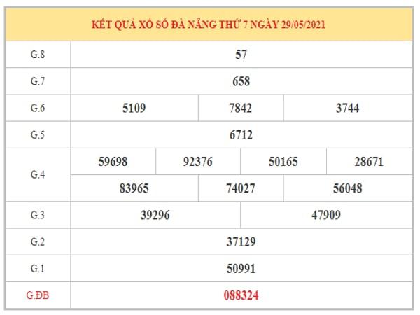 Phân tích KQXSDNG ngày 2/6/2021 dựa trên kết quả kì trước