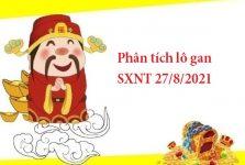 Phân tích lô gan SXNT 27/8/2021
