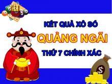 Nhận định KQXSQNG 11/9/2021 thứ 7 chốt lô VIP Quảng Ngãi